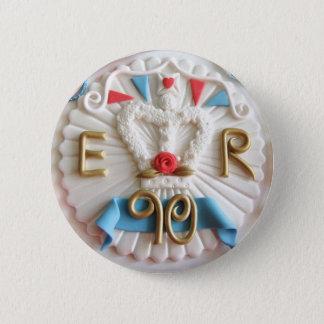 Chapa Redonda De 5 Cm La 90.a insignia de las celebraciones del