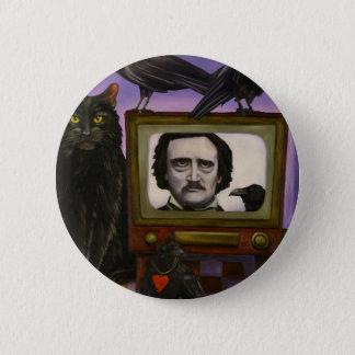 Chapa Redonda De 5 Cm La demostración del Poe