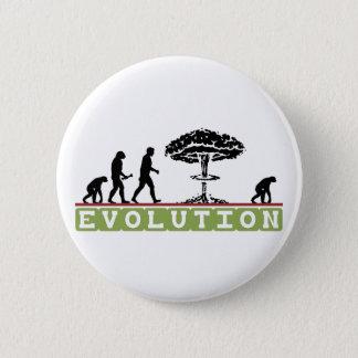 Chapa Redonda De 5 Cm La evolución divertida se desarrolla