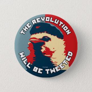 Chapa Redonda De 5 Cm La revolución será piada