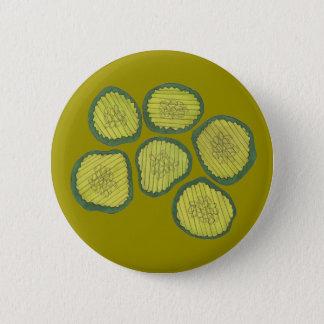 Chapa Redonda De 5 Cm La salmuera verde salta el microprocesador dulce