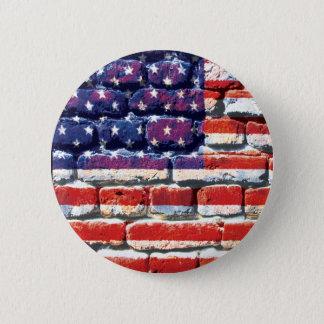 Chapa Redonda De 5 Cm ladrillo americano