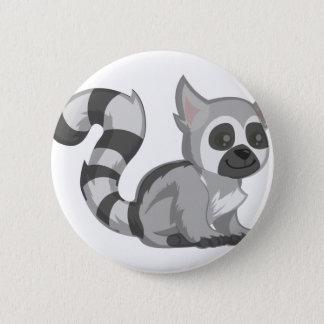 Chapa Redonda De 5 Cm Lemur