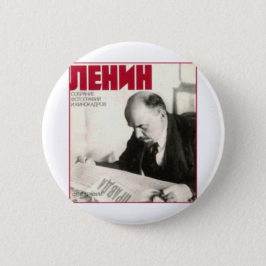 Chapa Redonda De 5 Cm Lenin