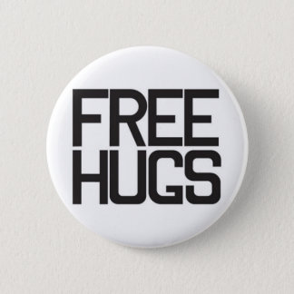 Chapa Redonda De 5 Cm Libere los abrazos