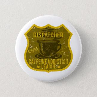 Chapa Redonda De 5 Cm Liga del apego del cafeína del despachador