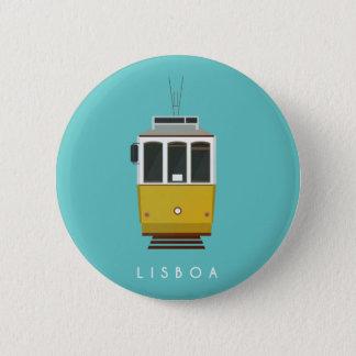 Chapa Redonda De 5 Cm Lisbon Pin