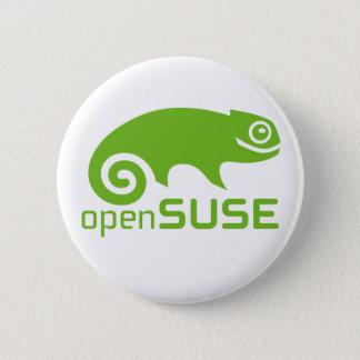 Chapa Redonda De 5 Cm logotipo de Linux del openSuzie