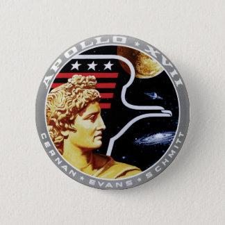 Chapa Redonda De 5 Cm Logotipo del remiendo de la misión de la NASA de