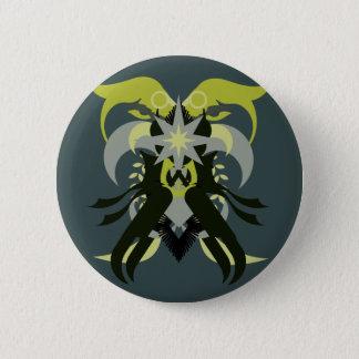 Chapa Redonda De 5 Cm Loki de la abstracción siete