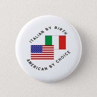 Chapa Redonda De 5 Cm Los E.E.U.U. italianos bien escogidos