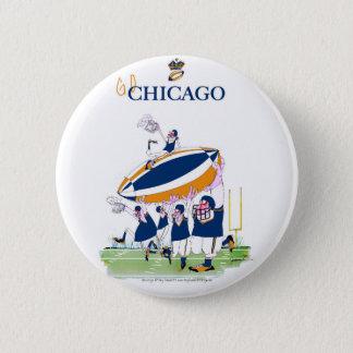 Chapa Redonda De 5 Cm los fernandes tony van Chicago