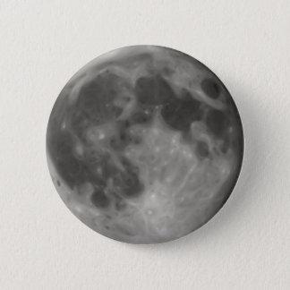 Chapa Redonda De 5 Cm Luna Llena