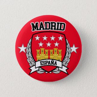 Chapa Redonda De 5 Cm Madrid