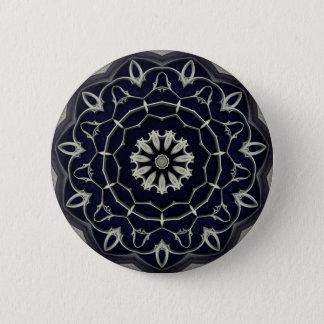 Chapa Redonda De 5 Cm Mandala gótica