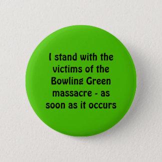 Chapa Redonda De 5 Cm Masacre de Bowling Green