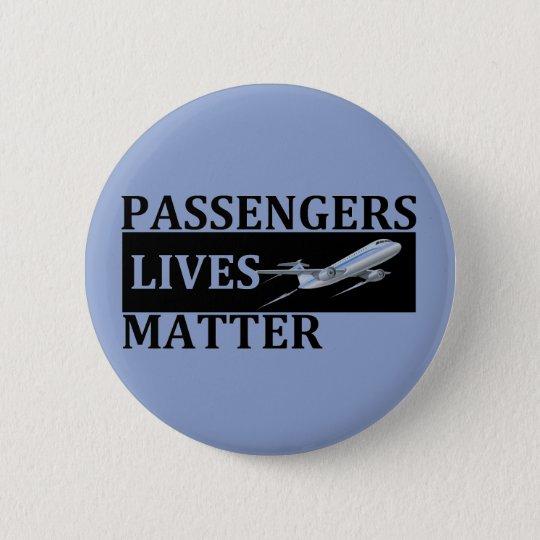 Chapa Redonda De 5 Cm Materia de las vidas de los pasajeros
