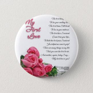 Chapa Redonda De 5 Cm Mi primer poema del amor