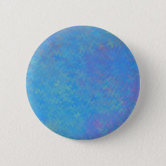 Chapa Redonda De 5 Cm Mirada hermosa del papel veteado del azul