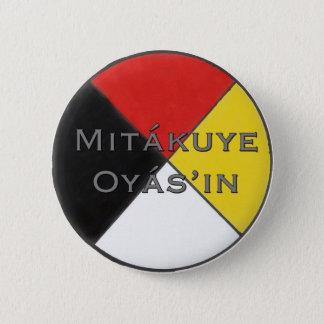 Chapa Redonda De 5 Cm Mitakuye Oyasin todo mi Pin de las relaciones en