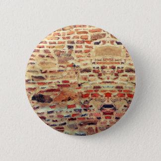 Chapa Redonda De 5 Cm Modelo de la pared de ladrillo