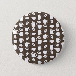 Chapa Redonda De 5 Cm Modelo de la taza de café