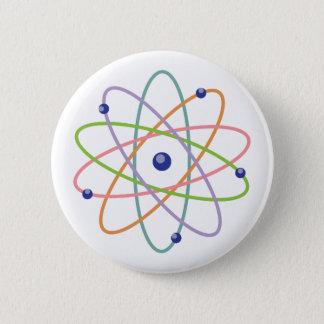 Chapa Redonda De 5 Cm Modelo del átomo
