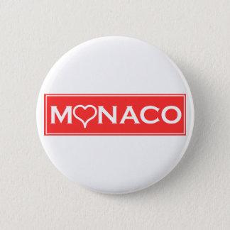 Chapa Redonda De 5 Cm Mónaco