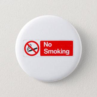 Chapa Redonda De 5 Cm Muestra de no fumadores