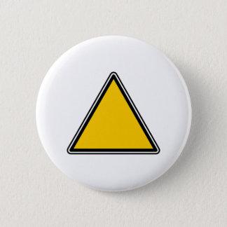 Chapa Redonda De 5 Cm Muestra en blanco amarilla