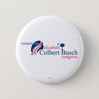 Chapa Redonda De 5 Cm Mujeres para Elizabeth Colbert Busch