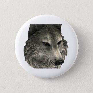 Chapa Redonda De 5 Cm Mún lobo grande