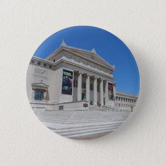 Chapa Redonda De 5 Cm Museo del campo de Chicago