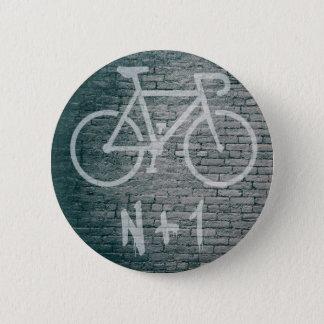 Chapa Redonda De 5 Cm N+1 pintada de la bici