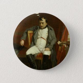 Chapa Redonda De 5 Cm Napoleon piensa en puercos espines