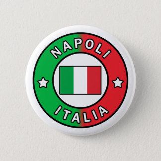 Chapa Redonda De 5 Cm Napoli Italia
