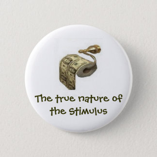 Chapa Redonda De 5 Cm Naturaleza verdadera del estímulo