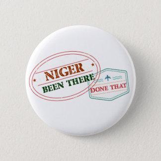 Chapa Redonda De 5 Cm Niger allí hecho eso