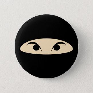 Chapa Redonda De 5 Cm Ninja hace frente