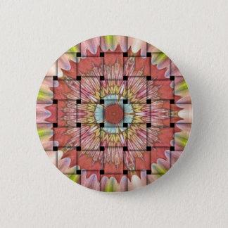 Chapa Redonda De 5 Cm Niza y precioso diseño tejido lindo