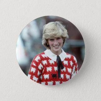 Chapa Redonda De 5 Cm No.42 polo 1983 de la princesa Diana