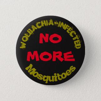 Chapa Redonda De 5 Cm No más de mosquitos de Wolbachia por RoseWrites