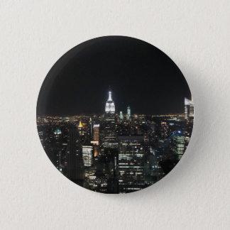 Chapa Redonda De 5 Cm Nueva York Apple grande Manhattan en el regalo de