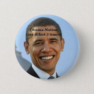Chapa Redonda De 5 Cm Obama-anti.
