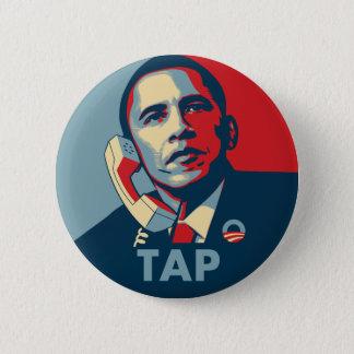 Chapa Redonda De 5 Cm Obama - golpecito