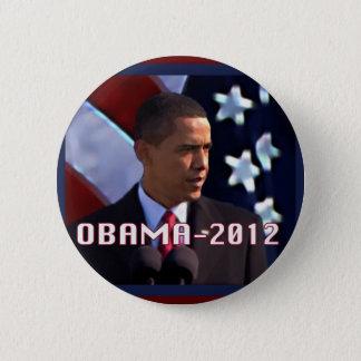 Chapa Redonda De 5 Cm Obama noviembre de 2012
