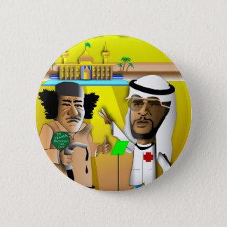 Chapa Redonda De 5 Cm Obama y el coronel