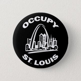 Chapa Redonda De 5 Cm Ocupe St. Louis