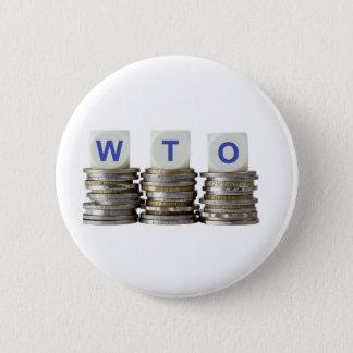 Chapa Redonda De 5 Cm OMC - Organización Mundial del Comercio