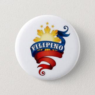 Chapa Redonda De 5 Cm Orgullo filipino